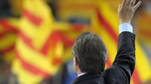 Le président de la région et chef de file nationaliste, Arthur Mas