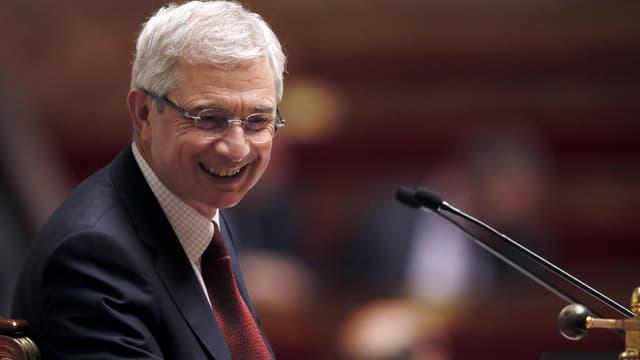 Claude Bartolone à l'Assemblée le 5 février 2014. Le président de l'Assemblée se dit pour le vote obligatoire.