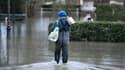 Villennes-sur-Seine inondé, le 29 janvier 2018