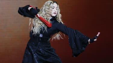 "Madonna lors de sa tournée ""Rebel Heart"""