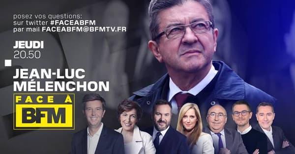 Jean-Luc Mélenchon ce jeudi soir.