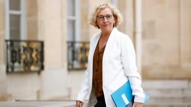 La ministre du Travail Muriel Pénicaud à l'Elysée, le 4 juin 2020 à Paris