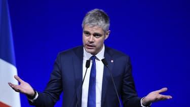 Laurent Wauquiez lors d'un meeting le 14 février 2016.