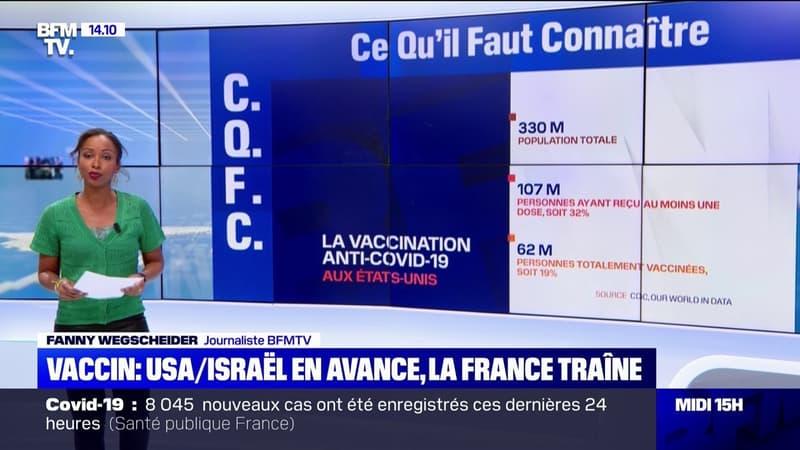 Vaccination: les États-Unis et Israël en avance sur leurs objectifs
