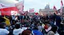 Des dizaines de milliers de pèlerins venus du monde entier, dont un grand nombre de Pologne, ont afflué samedi à Rome, à la veille de la béatification de Jean Paul II, dont la cérémonie est prévue dimanche, six ans après la mort de l'ancien souverain pont