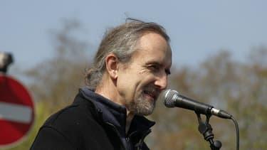 Le co-fondateur d'Extinction Rebellion Roger Hallam.