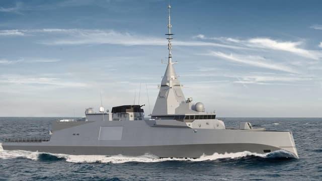 Le radar multifonctions Sea Fire de Thalès est capable de détecter ce qui flotte, vole ou roule dans un rayon de 400 km à 360°
