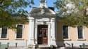 L'entrée du lycée Berthollet à Annecy.