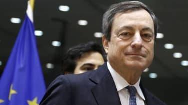 Mario Draghi estime que la zone euro n'est pas clairement en déflation.