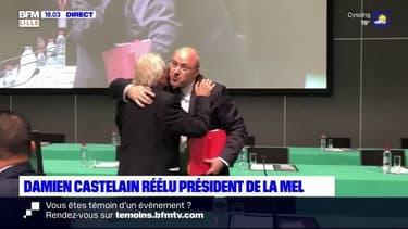 Métropole de Lille: Castelain réélu, ses opposants pointent un manque de renouvellement