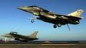 Des Rafale de l'armée de l'air française le 24 février dernier, avant une mission en Irak.