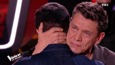 Marc Lavoine en larmes sur le plateau de The Voice
