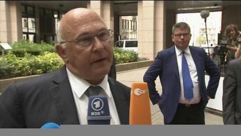 """Sapin sur la Grèce: """"Il nous appartient de décider de la mise en œuvre d'un 3ème programme"""""""