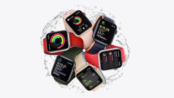 L'Apple Watch SE d'Apple