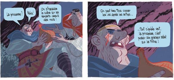 """Une case de la BD """"L'Âge d'or"""" de Cyril Pedrosa et Roxanne Moreil"""