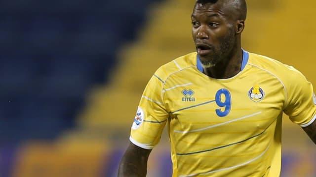Djibril Cissé avec le maillot d'Al Gharafa