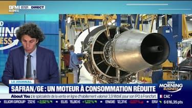 L'alliance Safran/GE dévoile un nouveau moteur d'avion pour 2035