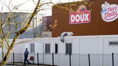 L'usine Doux de Pleucadeuc, en Bretagne.