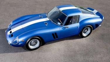 Cette 250 GTO est le second exemplaire produit par Ferrari. Elle est estimée 500 fois plus chère que son dernier prix public connu, soit à plus de 50 millions d'euros.