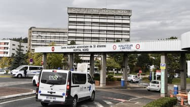 Le CHU de Saint-Etienne en octobre 2020. (Photo d'illustration)