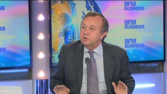 Patrick Blain était l'invité de BFM Business ce lundi 9 février