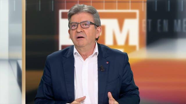 Jean-Luc Mélenchon à propos de la rentrée politique d'Emmanuel Macron.