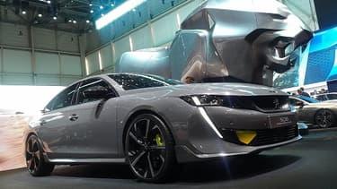 La 508 Peugeot Sport Engineered, présentée au Salon de Genève, veut faire la preuve que l'électrification des modèles peut devenir source de performance et de sportivité.