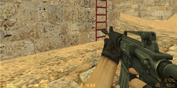 La version que l'on utilise dans le jeu Counter Strike est le M4A1.