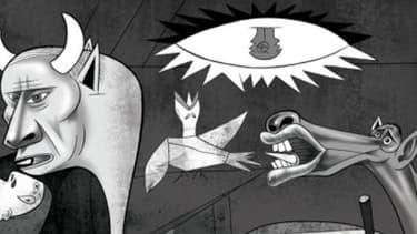 Une Version Syrienne De Guernica Pour Sensibiliser Au Drame D Alep