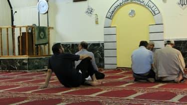 Une salle de prières à Athènes