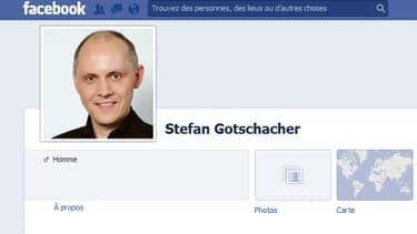 La page Facebook de Stefan Gotschacher, ex-porte-parole du FPO en Autriche, sur laquelle il avait posté des textes nazis.