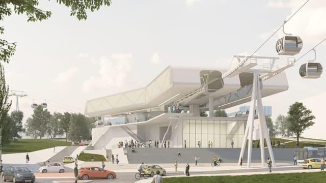 Le projet de téléphérique Câble A-Téléval est le plus avancé d'Ile-de-France.