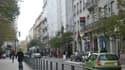 La rue Charles de Gaulle, à Saint-Etienne