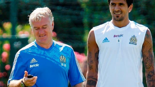 Didier Deschamps et Lucho