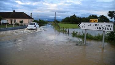 Plus d'une centaine de personnes ont été évacuées dans la nuit de mardi à mercredi du fait des inondations