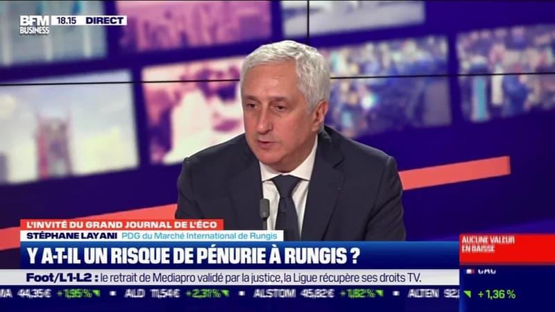 Stéphane Layani (Marché International de Rungis) : Y a-t-il un risque de pénurie à Rungis ? - 22/12