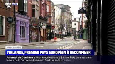 Covid-19: l'Irlande devient le premier pays européen à se reconfiner