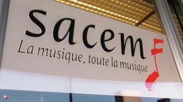 Le logo de la Sacem