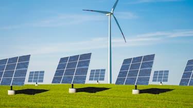 L'Inde a commandé à Engie et EDF la création de plusieurs parcs solaires et éoliens. (image d'illustration)