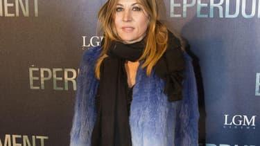 L'actrice Mathilde Seigner, en février 2016