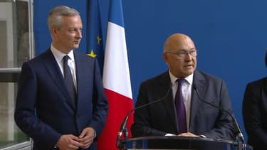 Michel Sapin transmet ses pouvoirs à Bruno Le Maire