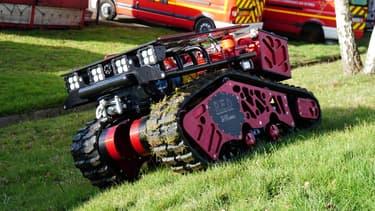 Le robot pompier Colossus.