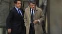 Nicolas Sarkozy a reçu jeudi son ancien ministre de l'Environnement Jean-Louis Borloo, qui a refusé d'intégrer le nouveau gouvernement après avoir fait figure de favori pour succéder à François Fillon à Matignon. /Photo prise le 18 novembre 2010/REUTERS/P