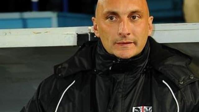Olivier Pantaloni, entraîneur de l'ACA
