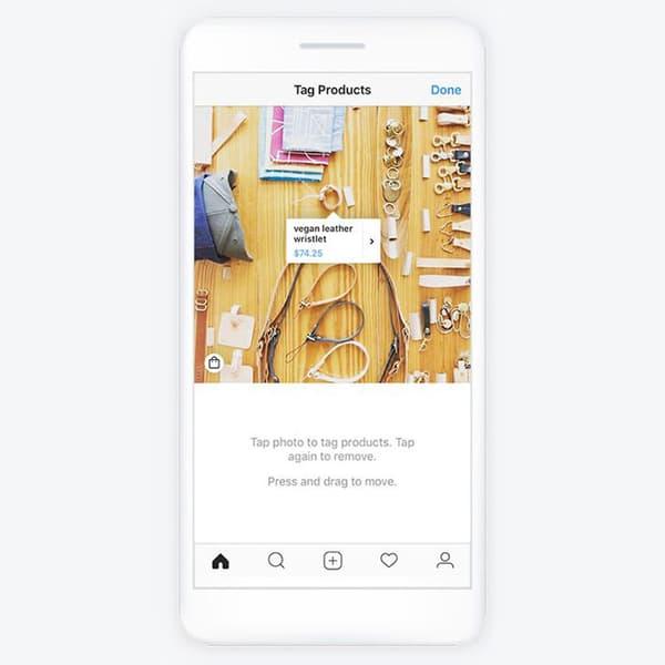 La plateforme Instagram Shopping