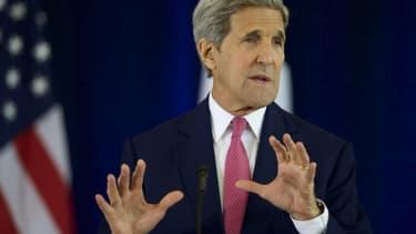Le secrétaire d'Etat John Kerry le 2 septembre 2015 à Philadelphie (Pennsylvanie)