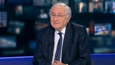 Jacques Cheminade candidat à la présidentielle de Solidarité et progrès, sur BFMTV le 17 mars 2017.