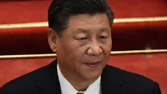 Le président chinois Xi Jinping à Pékin le 25 mai 2020