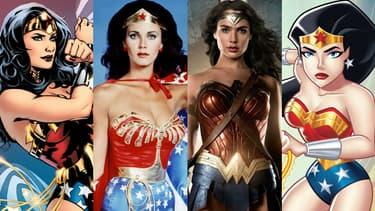 Wonder Woman en comics, en série télé, au cinéma et en dessin animé