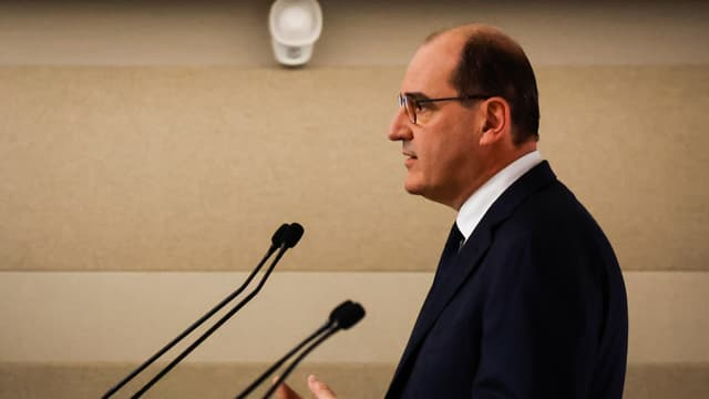 Jean Castex lors de la conférence de presse, le 22 octobre 2020.